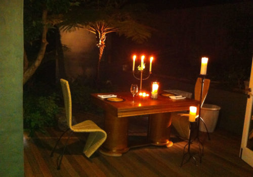 Outdoor Eating - The Hout Bay Hideaway