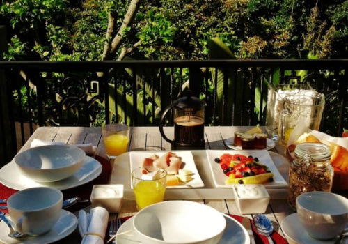 Breakfast - The Hout Bay Hideaway