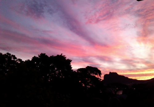 Sunset - The Hout Bay Hideaway