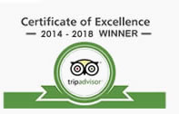 Certificate of Excellence - The Hout Bay Hideaway