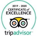 Trip Advisor - Certificate of Excellence - Hout Bay Hideaway